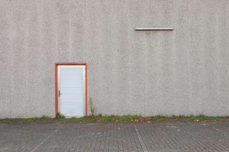 photo by Bert Vereecke for photoseries Entrance through the exit and exit through the entrance