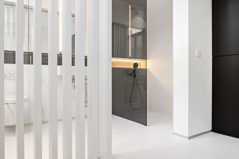 photo by Bert Vereecke of bathroom (Gent) for Liquidfloors