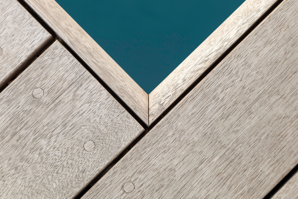 photo by Bert Vereecke of pool detail (Gent) for Woodframes