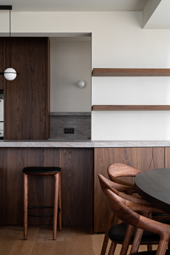 photo by Bert Vereecke of interior (Knokke) for Potier Stone